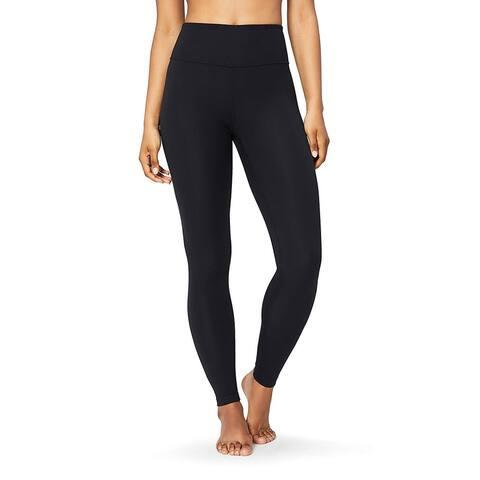 """Core 10 Women's Spectrum High Waist Yoga Full-Length Legging - 28"""", black, Large - 12"""