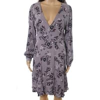 ASTR Light Womens Medium Floral Printed Shift Dress