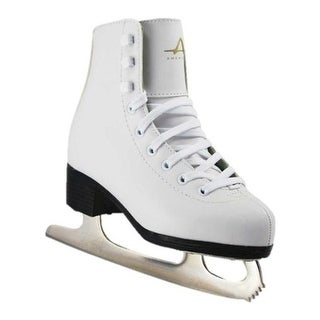 American Girls' 512 Tricot Lined Figure Skate White