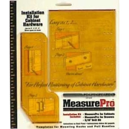 Measure Pro 37917 Installation Guide Cabinet Hardware Kit