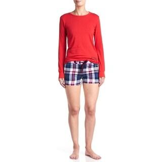 Hello Kitty Mixing Fun Short Pajama Set - Red