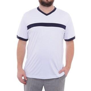 Fila Heritage Short Sleeve High V-Neck Men Regular Basic T-Shirt