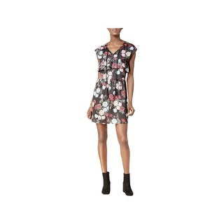 Kensie Womens Special Occasion Dress Floral Print Fit & Flare