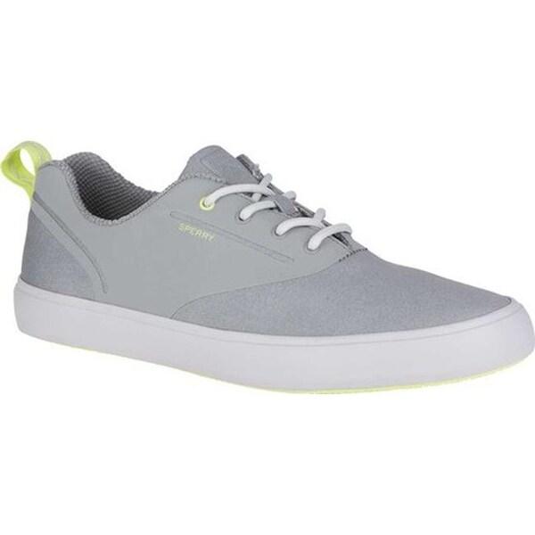730b46367806 Shop Sperry Top-Sider Men s Flex CVO Deck Shoe Grey Fabric Textile ...