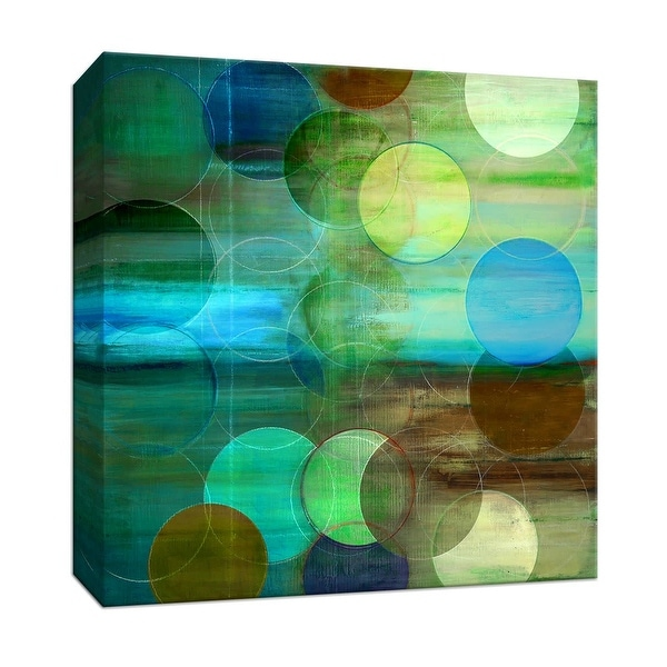 "PTM Images 9-146727 PTM Canvas Collection 12"" x 12"" - ""On the Surface"" Giclee Patterns and Designs Art Print on Canvas"