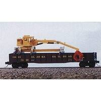 Railway Express Miniatures REM2141 N MOW Gondola Crane Kit