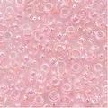 Toho Round Seed Beads 8/0 171 'Dyed Rainbow Ballerina Pink' 8 Gram Tube - Thumbnail 0