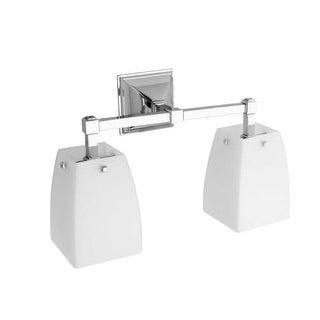 Ginger 1882D Double Downward Facing Bathroom Fixture from the Quattro Collection