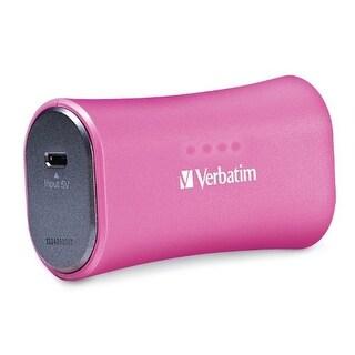Verbatim TT3579P 2,200 mAh Portable Micro-USB Power Bank Charger