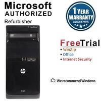 HP Pro 3500 Computer Tower Intel Core I5 3470 3.2G 8GB DDR3 2TB Windows 10 Pro 1 Year Warranty (Refurbished) - Black