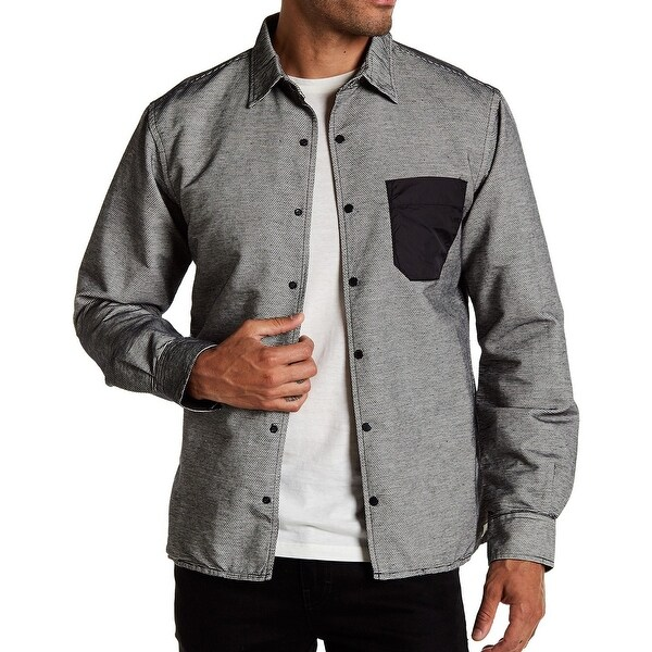 445259c3066 Shop FUNDAMENTAL COAST Mens Small Button Down Shirt - Free Shipping On  Orders Over  45 - Overstock.com - 26915497