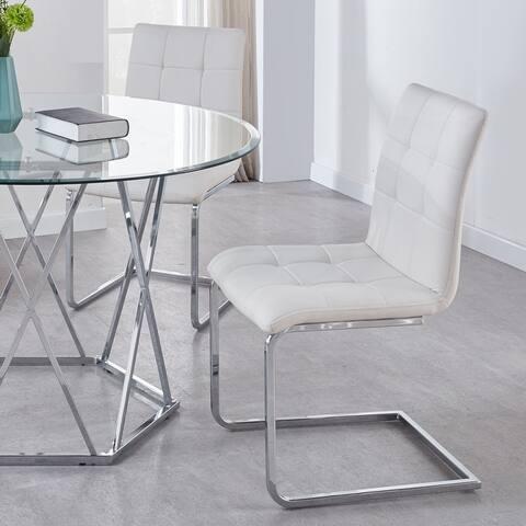 Strick & Bolton Estelline Breuer Style Side Chairs - Set of 2