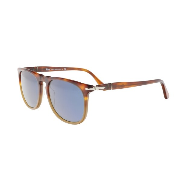 e9732bf062 Shop Persol PO3113S 102556 2N Medium Havana Round Sunglasses - 54-18 ...