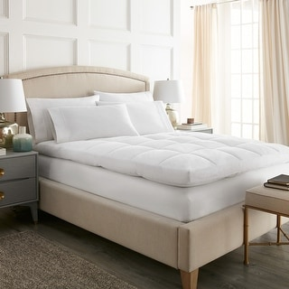 Link to Cloud Top Ultra Plush Pillow Top Feather Bed Similar Items in Mattress Pads & Toppers