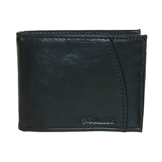 Columbia Men's Extra Capacity Slimfold Bifold Wallet - Black - One size
