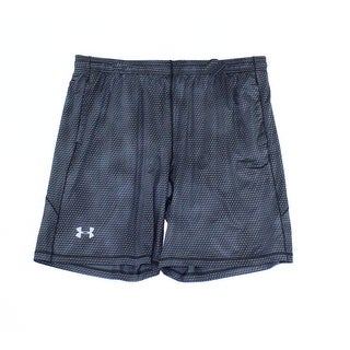 Under Armour NEW Gray Mens Size 2XL Elastic-Waist Drawstring Shorts