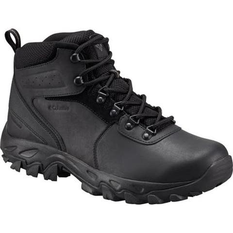Columbia Men's Newton Ridge Plus II WP Black/Black