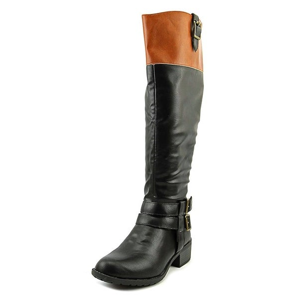 Dakota Chase Ivy Women Round Toe Leather Knee High Boot