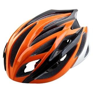 Adult Unisex Head Protector Skateboard Bicycle Cap Adjustable Bike Helmet Orange