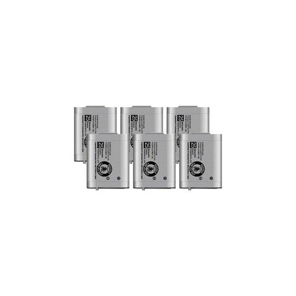 Replacement Panasonic KX-TGA271 NiMH Cordless Phone Battery (6 Pack)