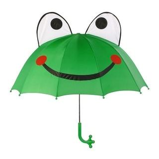 Kidorable Boys Men Green Child Adult Size Lightweight Ears Frog Umbrella