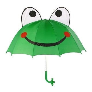 Boys Men Green Child Adult Size Lightweight Ears Frog Umbrella (2 options available)