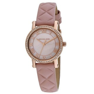 Michael Kors Women's Petite Norie Pink MOP Dial Watch