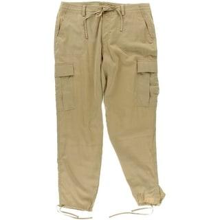 Da Nang Women S Silk Cargo Pants 12249088 Overstock