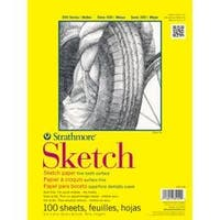 "50Lb 100 Sheets - Strathmore Sketch Paper Pad 11""X14"""