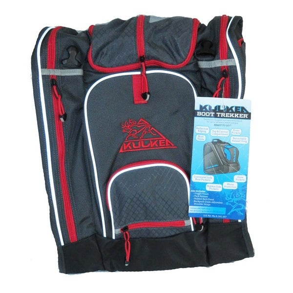 2354f32cf1 Shop Kulkea Boot Trekker Grey Black Rush-Red Ski Boot Backpack ...