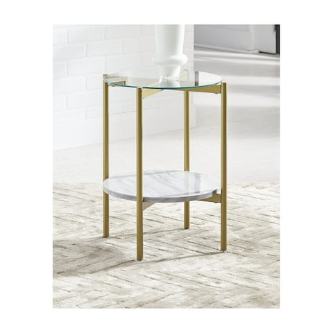 Wynora Round End Table
