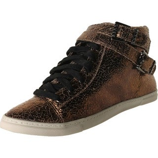 Schutz Womens Aila Cracked Distressed Fashion Sneakers - 9