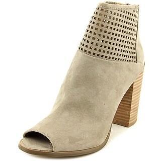 Report Bismarck Women Peep-Toe Synthetic Gray Ankle Boot