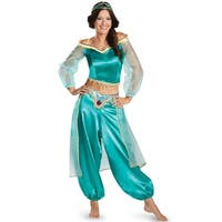Disguise Sassy Jasmine Prestige Adult Costume - Blue