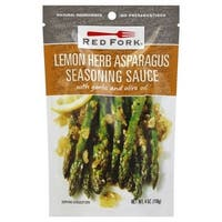 Red Fork Seasoning Sauce - Lemon Herbs Asparagus - Case of 8 - 4 oz.
