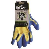 Showa KV300L-09.RT Atlas KV300 Rubber Gloves, Large