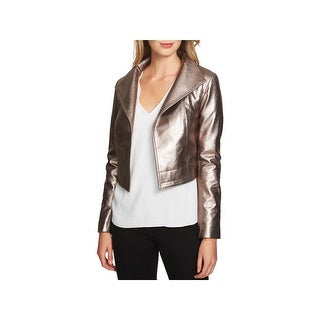 1.State Womens Motorcycle Jacket Fall Cropped