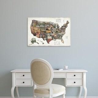 Easy Art Prints Jess Aiken's 'InstaStates IX' Premium Canvas Art