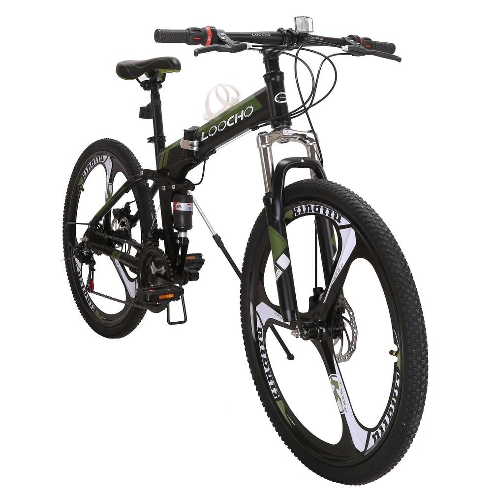 Cozayh 21 Speed Foldable Mountain Bike