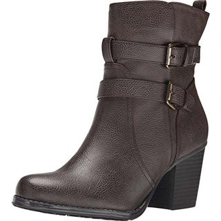 Naturalizer Womens Transform Round Toe Ankle Fashion Boots