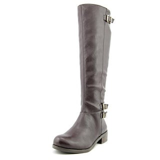 BCBGeneration Kandy Round Toe Synthetic Knee High Boot