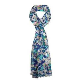 Style & Co. Women's Frayed Geometric Print Wrap Scarf - os