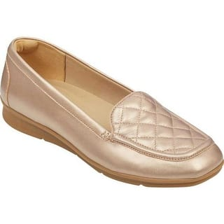 c0e31e41517b Quick View. Was  44.96.  5.01 OFF.  39.95. Easy Spirit Women s Wynter  Quilted Loafer Gold Leather
