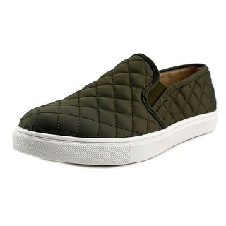 Steve Madden Ecntrcqt Round Toe Canvas Loafer