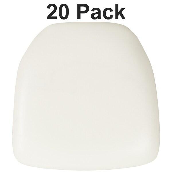 20 Pack Hard Chiavari Chair Cushion