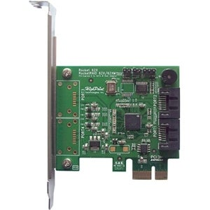 HighPoint ROCKETRAID620 HighPoint RocketRAID 620 2-port SATA RAID Controller - Serial ATA/600 - PCI Express 2.0 x1 - Plug-in