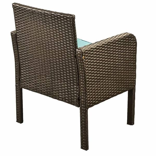 Superbrite 4 Piece Rattan Sofa Seating Group With Cushions Outdoor Ratten Sofa On Sale Overstock 31866387