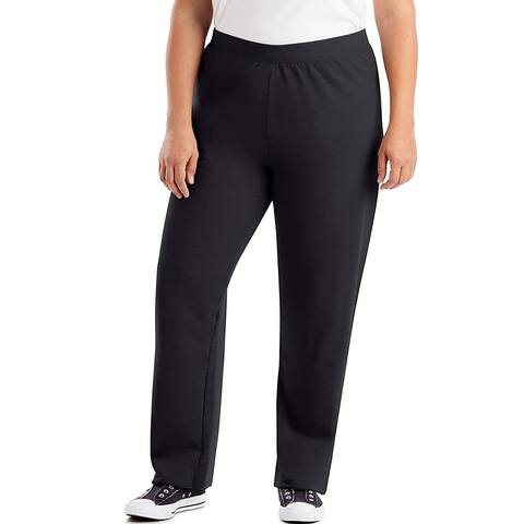 Just My Size ComfortSoft® EcoSmart® Fleece Open-Hem Women's Sweatpants, Average Length