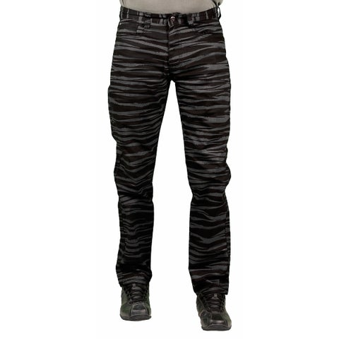 MO7 Men's Tiger Stripe Print Fashion Pants