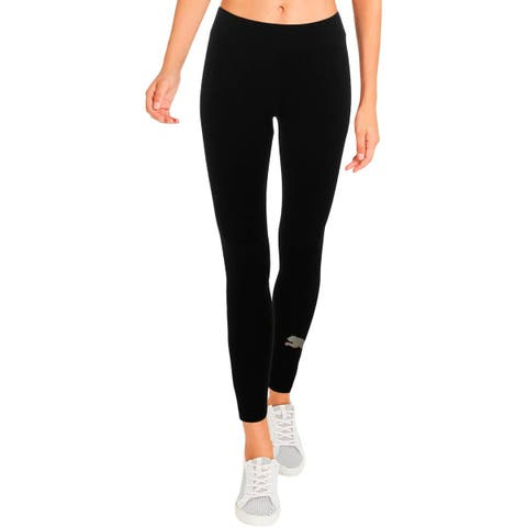 Puma Womens Athletic Leggings Fitness Yoga - S